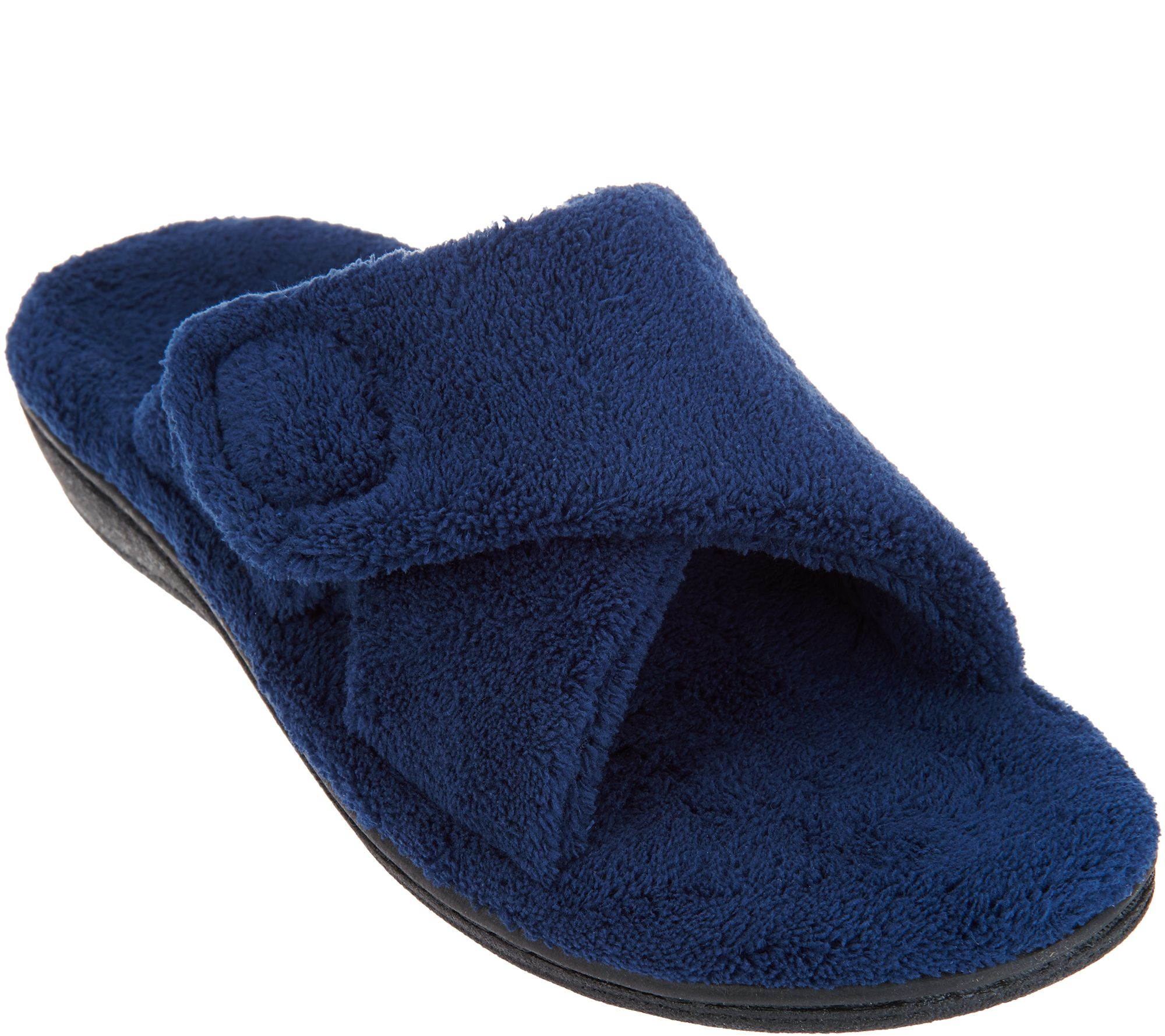 d84ed52acd1ab Vionic Adjustable Strap Slippers - Relax - Page 1 — QVC.com