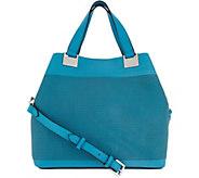 Vince Camuto Perforated Satchel Handbag - Beatt - A304480