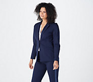 Joan Rivers Signature Ponte Blazer - A343480