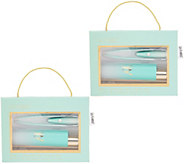 La-Tweez Set of 2 Illuminating Ombre Tweezer Collection - A345580