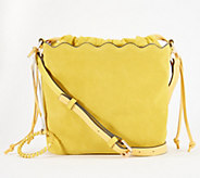 Vince Camuto Leather Bucket Bag - Wavy - A352280