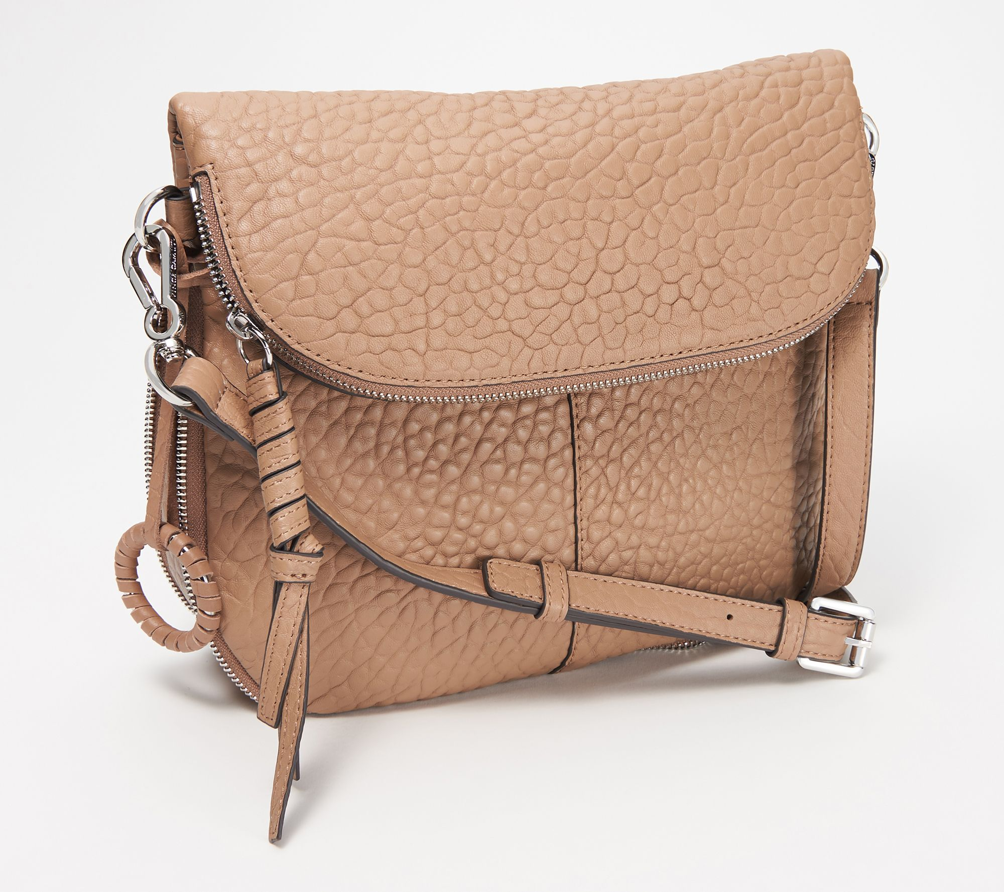 Vince Camuto Lamb Leather Crossbody Bag