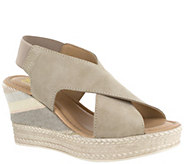 Bella Vita Leather Wedge Sandals - Bec-Italy - A423780