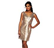 Mark of Style by Mark Zunino Sequin Sleeveless Dress - A251881