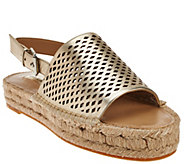 G.I.L.I. Espadrille Sandals with Backstrap - Lucida - A275681