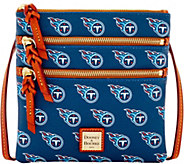 Dooney & Bourke NFL Titans Triple Zip Crossbody - A285681