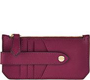 Aimee Kestenberg Pebble Leather RFID Credit Card Holder - A290981