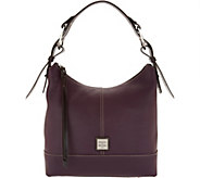 Dooney Bourke Pebble Leather Hobo Handbag Gracie A300281