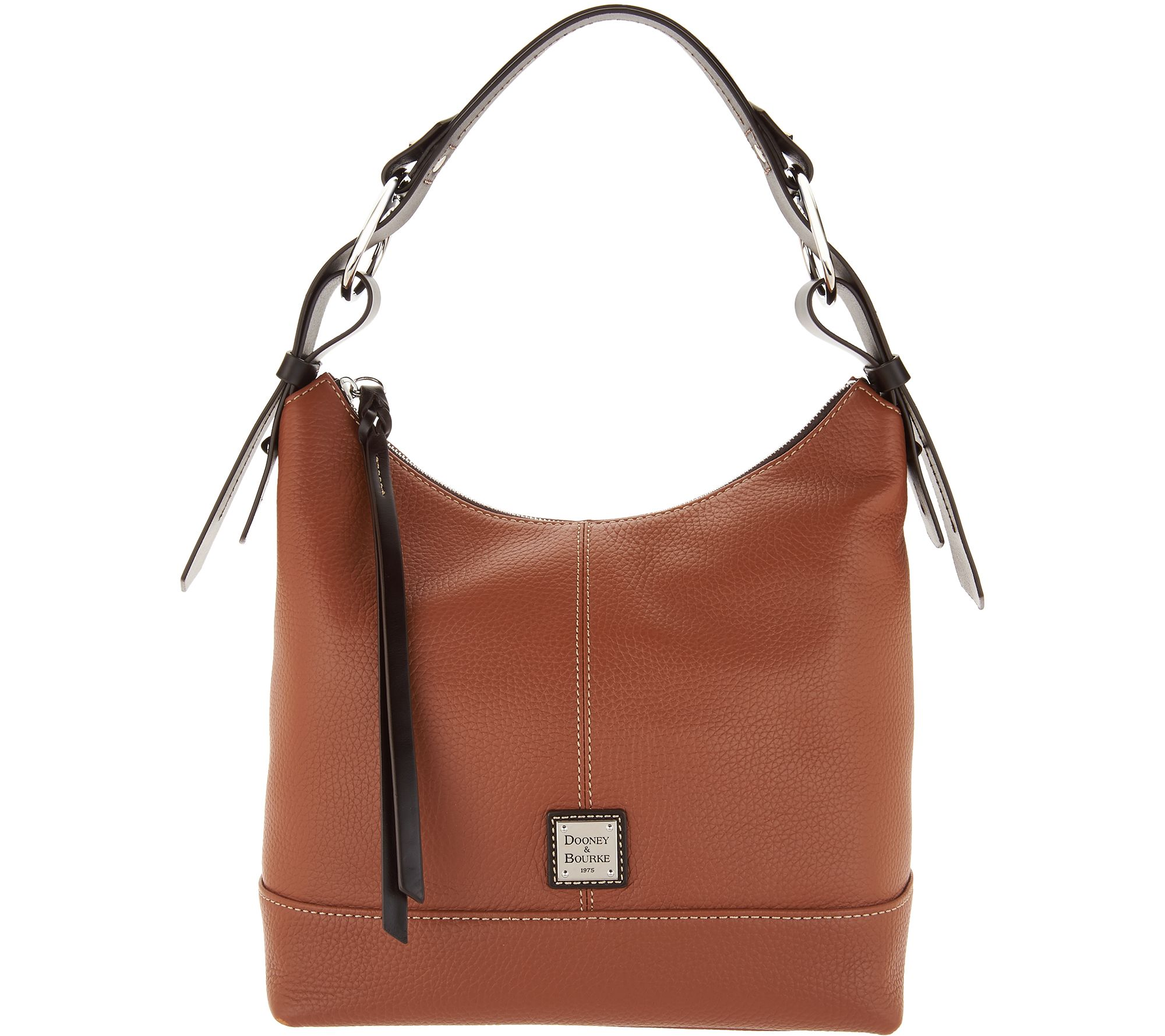 d837c36c7c Dooney   Bourke Pebble Leather Hobo Handbag- Gracie - Page 1 — QVC.com