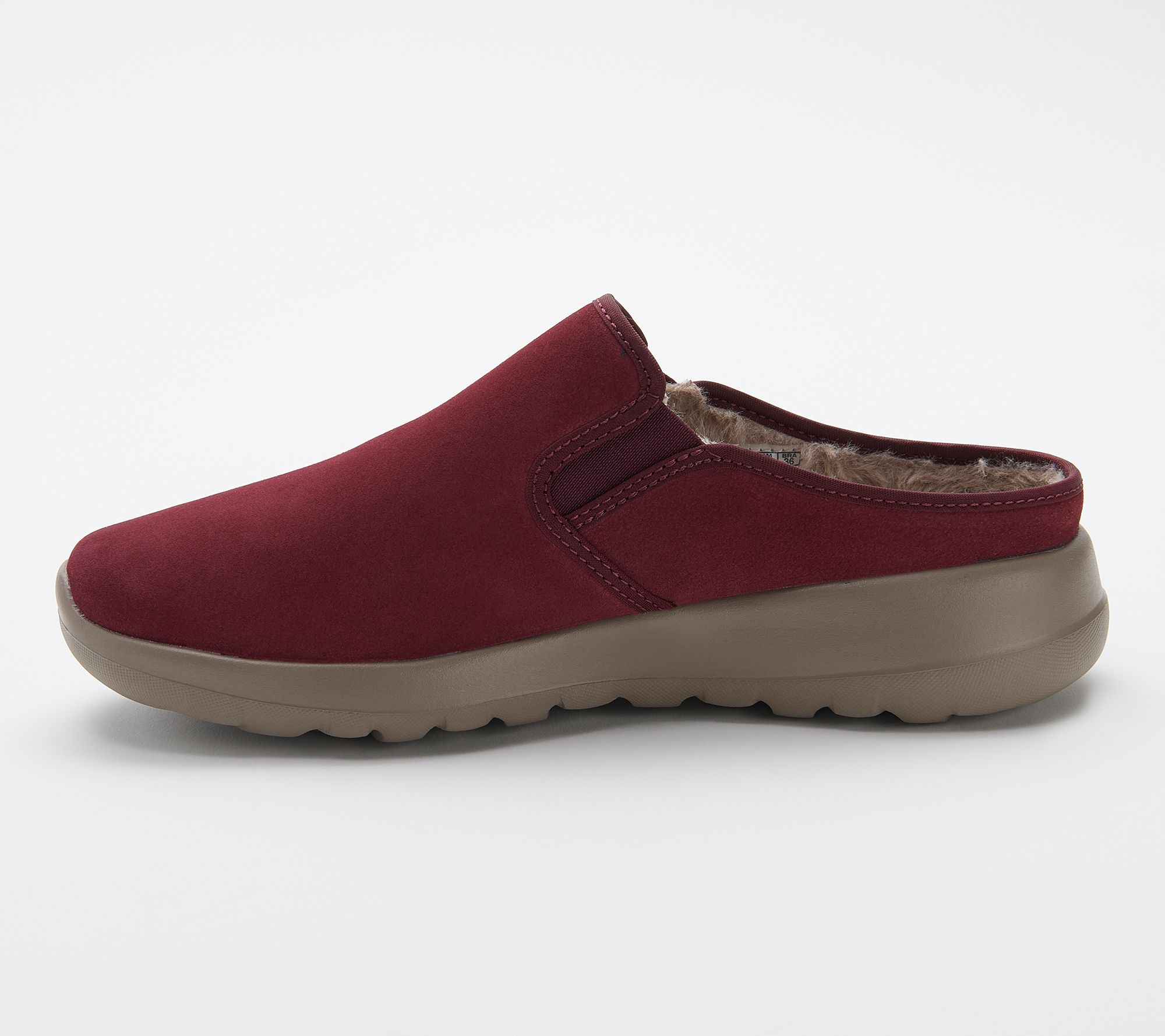 6841f6867821 Skechers GOWalk Joy Water-Repellant Suede Clogs - Snuggly - Page 1 — QVC.com