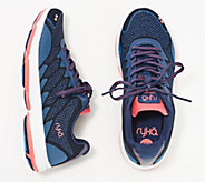 Ryka Knit Lace-Up Sneakers - Dominion - A353981