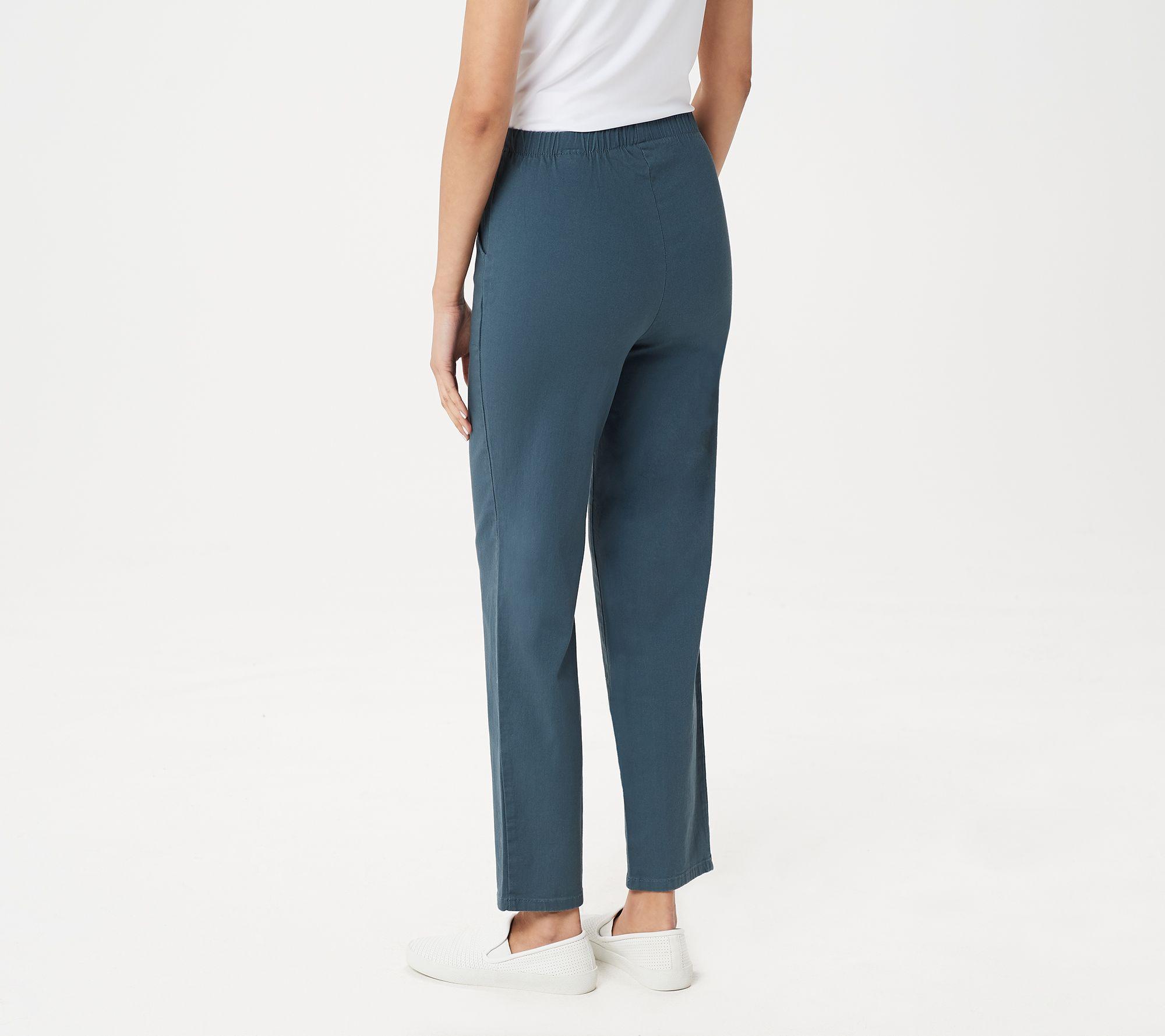 b4f59d4f51 Original Waist Stretch Petite Pants with Side Pockets - Page 1 — QVC.com