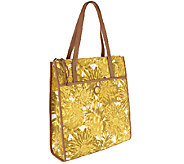 As Is Isaac Mizrahi Live! Bridgehampton Printed Canvas Tote - A258282