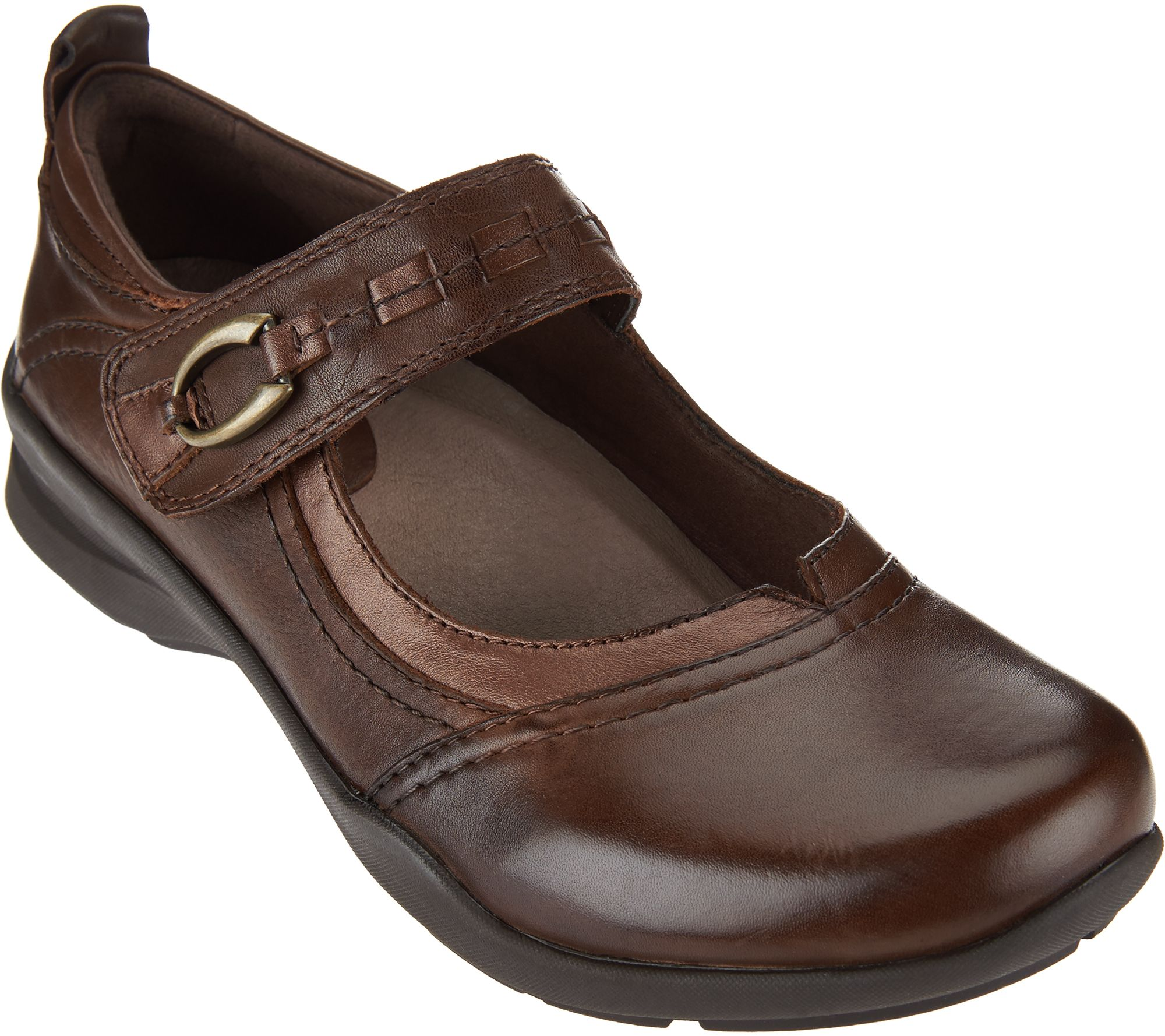 3cd3639357ed3 Earth Leather Mary Janes - Angelica - Page 1 — QVC.com