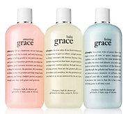 philosophy state of grace shower gel trio - A304582