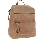 Frye Leather Melissa Zip Backpack - A342282