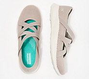 Skechers YOU Knit Cross-Strap Mary Janes - Vanity - A349882