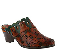 LArtiste by Spring Step Leather Mules - Rima - A416382