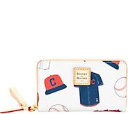Dooney & Bourke MLB Indians Zip Around Phone Wristlet - A280883