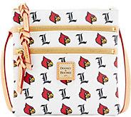 Dooney & Bourke NCAA University of Louisville Zip Crossbody - A283483