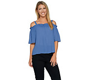 Lisa Rinna Collection Off the Shoulder Top - A292283
