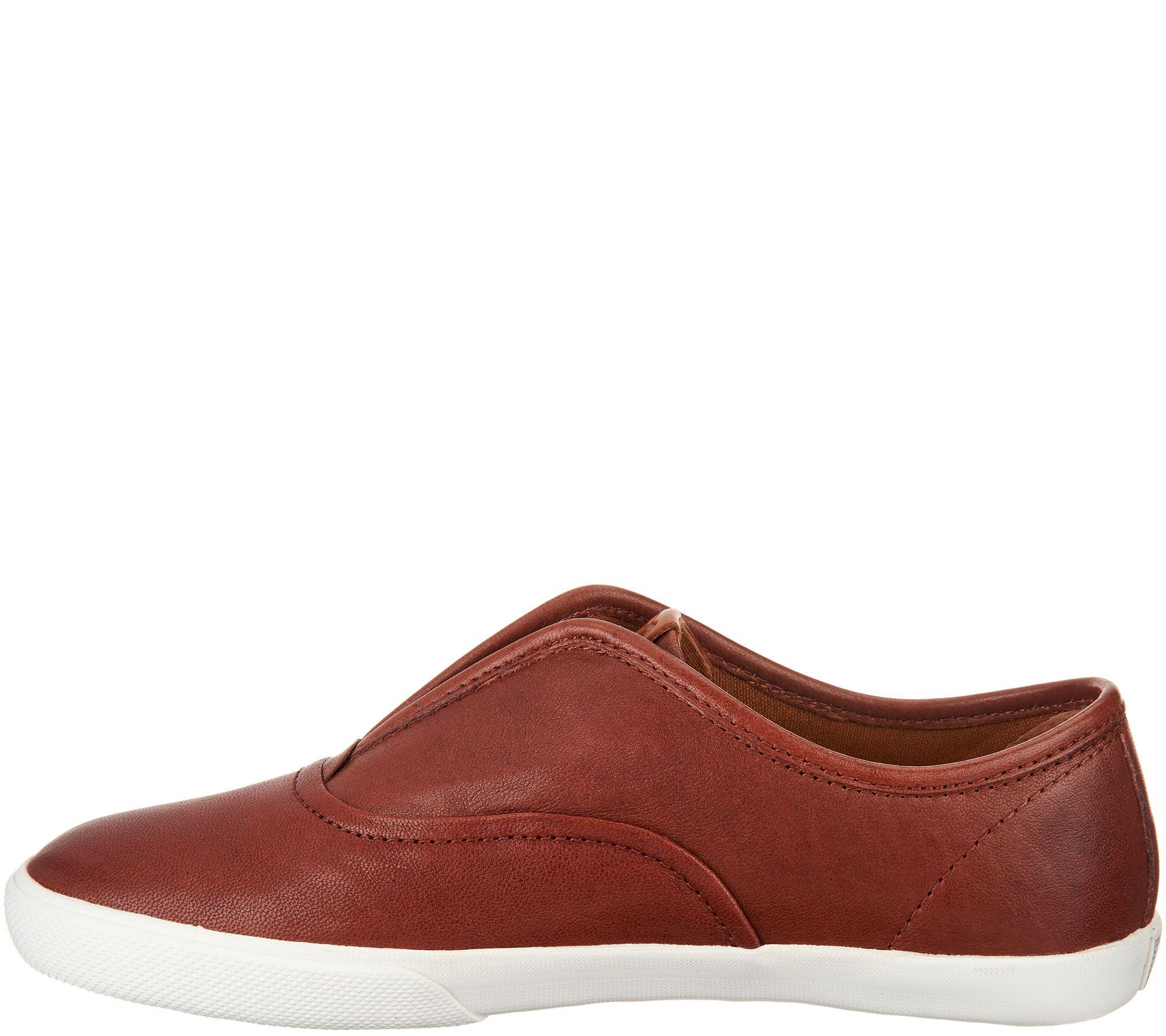 Frye Leather Slip On Sneakers Maya Page 1 Ready Nwt Hobo Brown