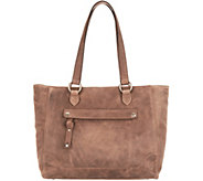 Frye Leather Melissa Zip Top Tote - A342283