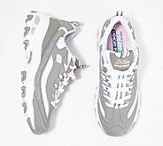 Skechers DLites Lace-Up Sneakers - Biggest Fan - A349783