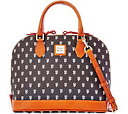 Dooney & Bourke MLB Giants Zip Zip Satchel - A280084