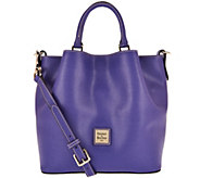 As Is Dooney & Bourke Saffiano Small Barlow Satchel - A293984