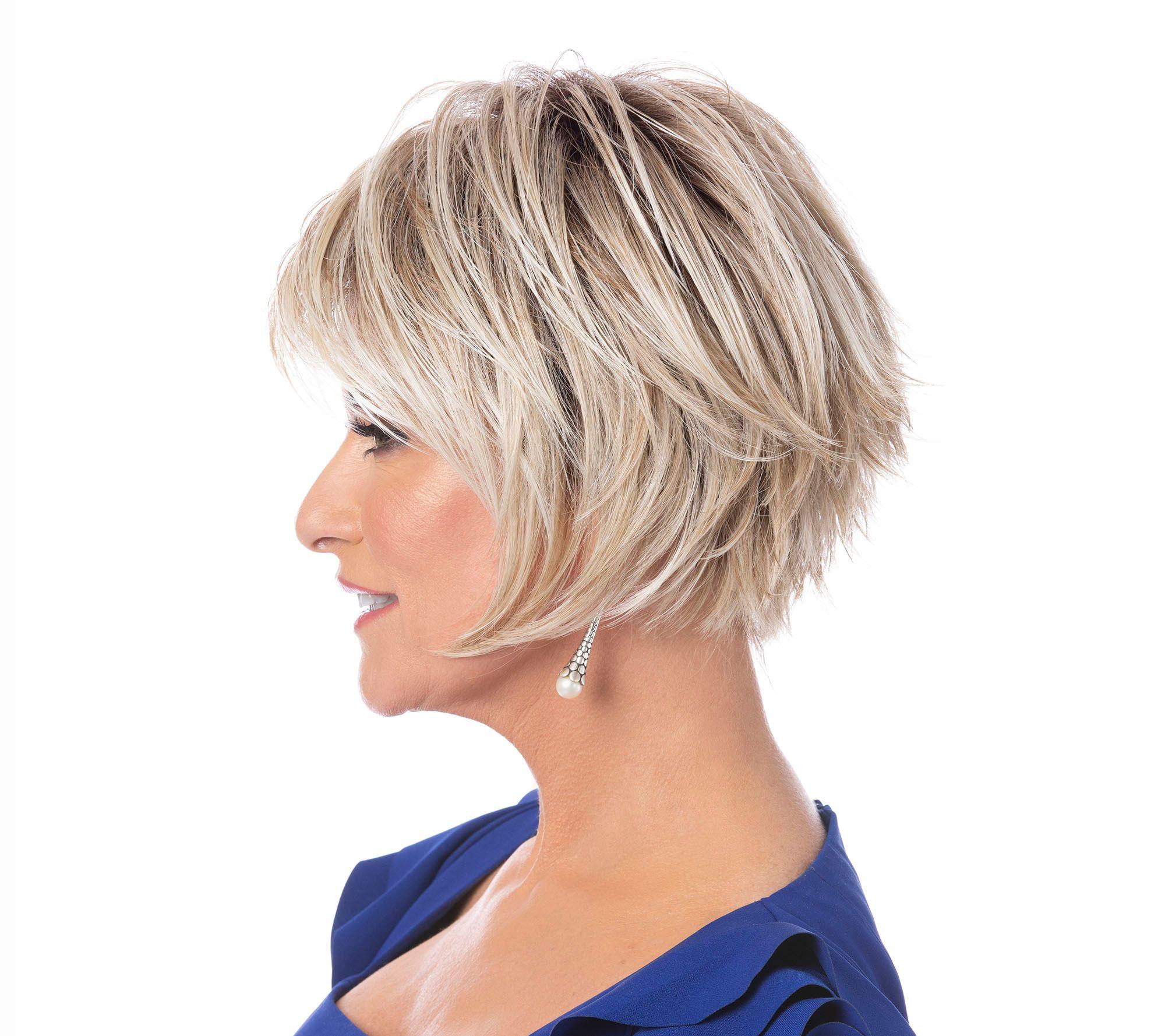 Toni Brattin Trendsetter Whispy Cut Wig Page 1 Qvc Com