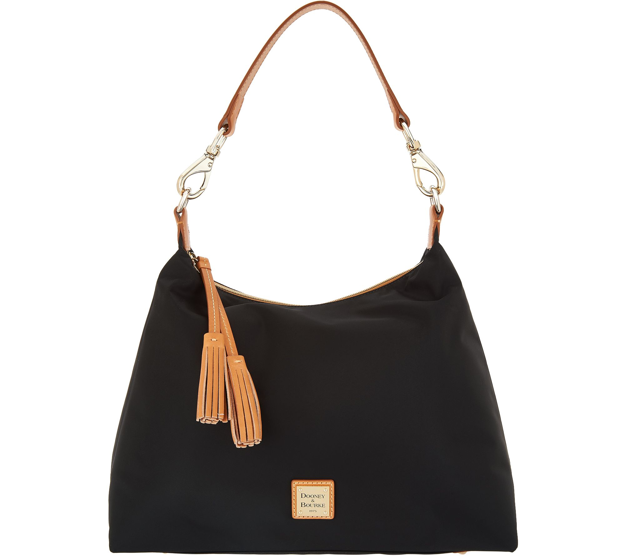 b26c8c58f161 Dooney   Bourke Nylon Hobo Handbag- Juliette - Page 1 — QVC.com
