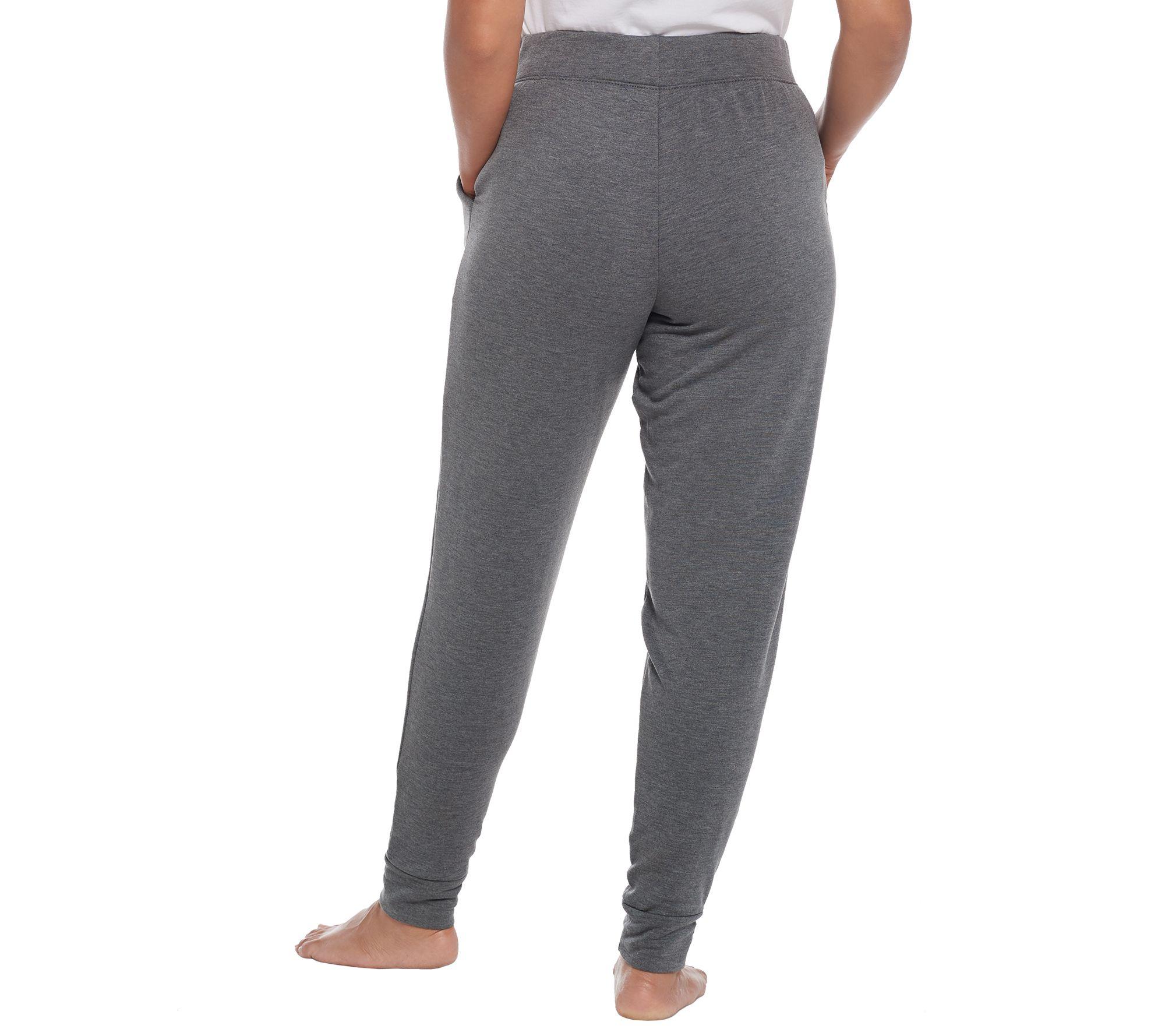 87d2ae73c05e9 Cuddl Duds Petite Comfortwear Jogger Pants - Page 1 — QVC.com