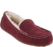 Koolaburra by UGG Suede Faux Fur Slippers - Lezly - A310484