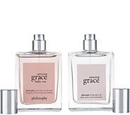 philosophy blooming with grace & roses eau de toilette duo - A345784