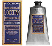 LOccitane After Shave Balm for Men, 2.5 oz - A362884