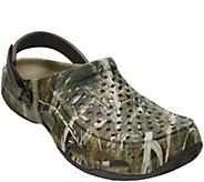 Crocs Mens Clogs - Swifterwater Deck RealtreeMax-5 - A412484