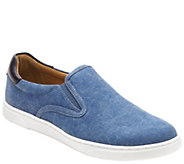 Vionic Mens Canvas Slip On Sneaker - Brody - A413684
