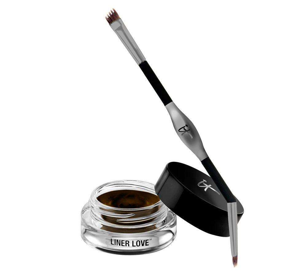 It Cosmetics Liner Love Waterproof Gel Creme Liner Tightline Brush