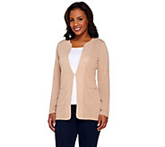 Kelly by Clinton Kelly Cardigan with Front Pockets - A266485