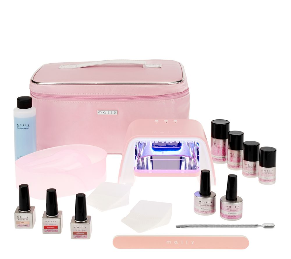 Mally 24/7 Professional 16pc Gel Nail System - Page 1 — QVC.com