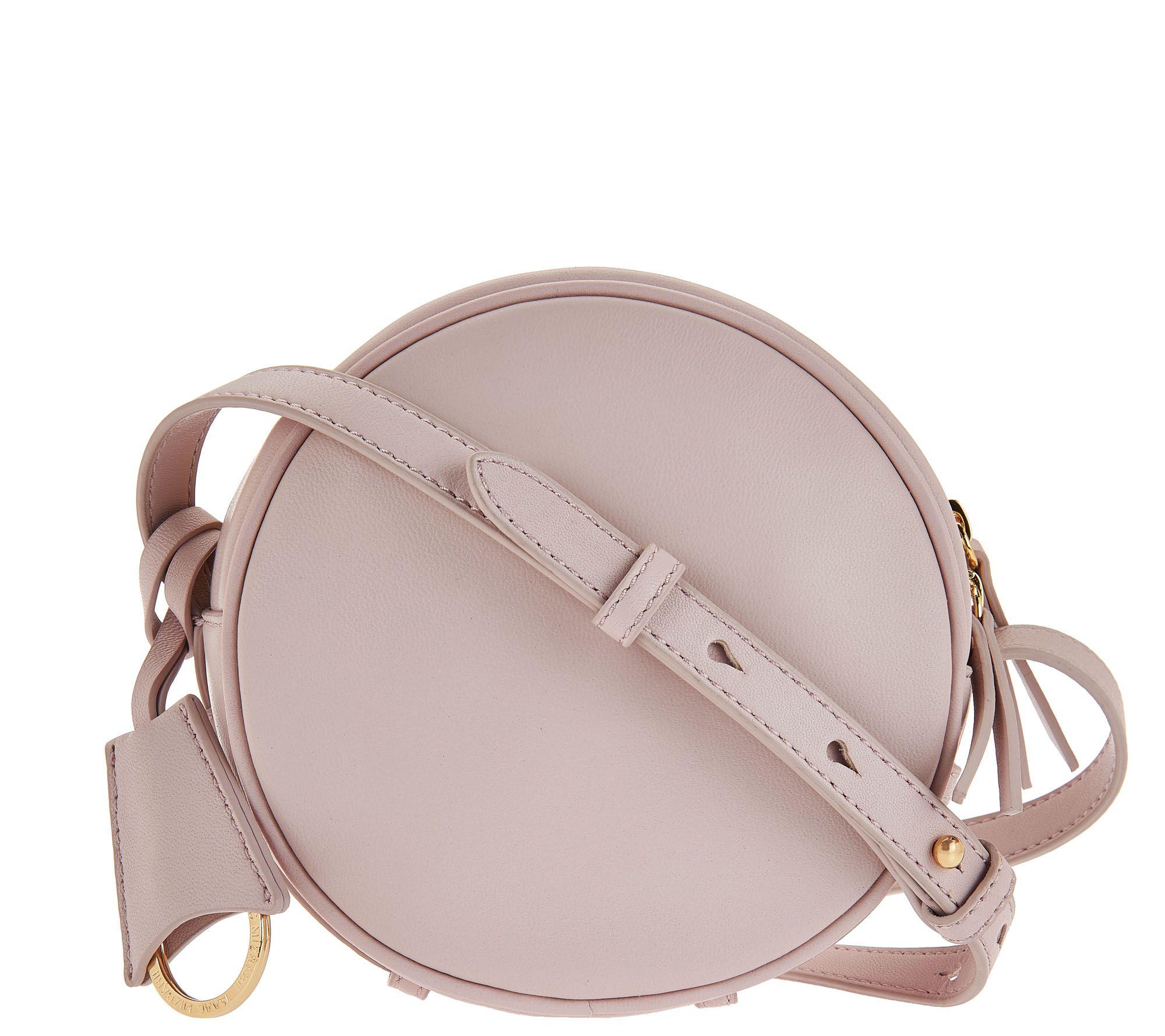 Nolita Lamb Leather Can Handbag Qvc