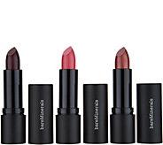 bareMinerals Statement Luxe-Shine Lipstick Trio - A286885