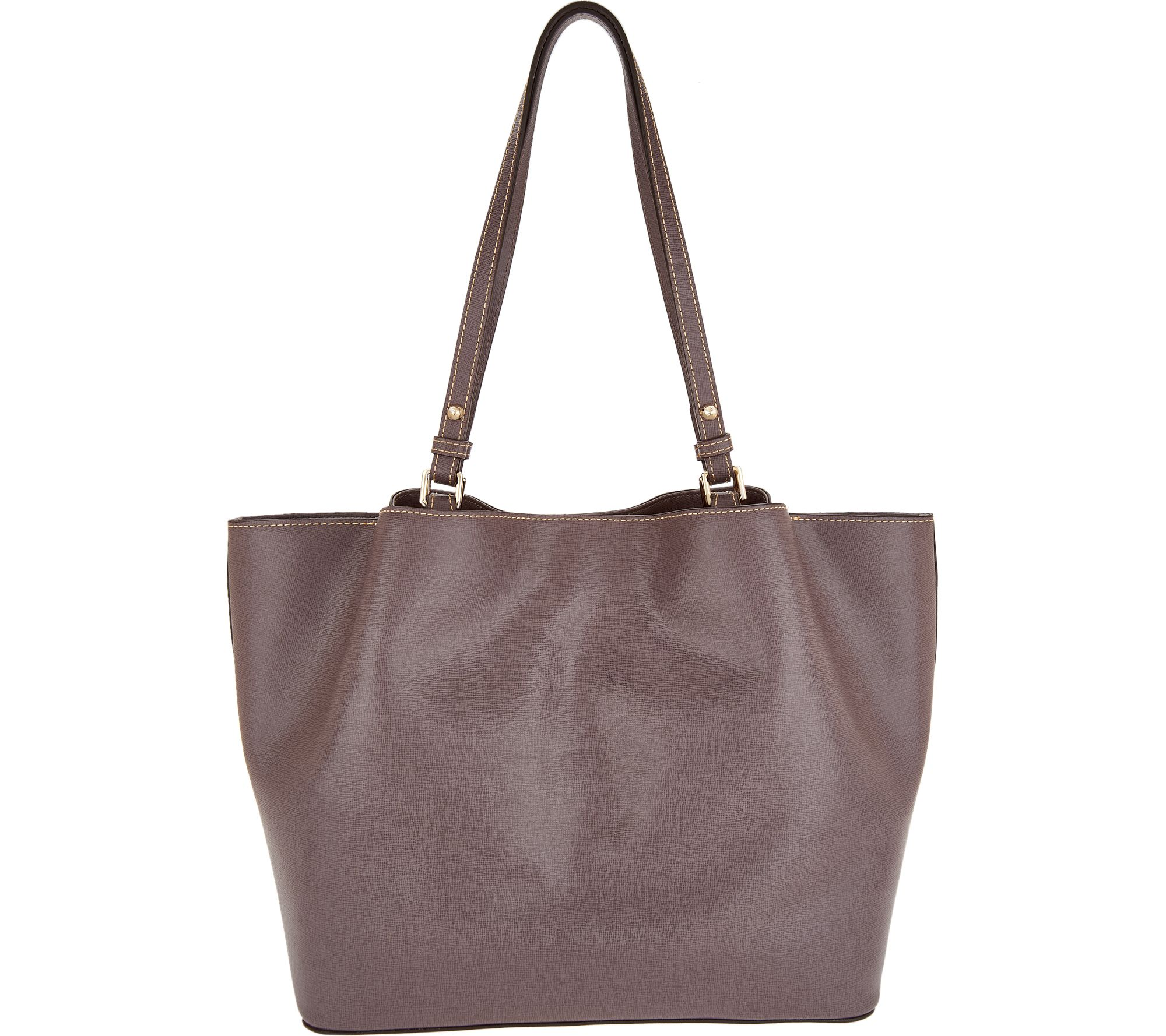 9f6657caec Dooney   Bourke Saffiano Leather Shoulder Bag -Flynn - Page 1 — QVC.com