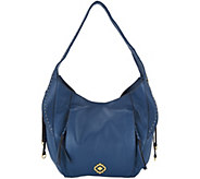 As Is orYANY Pebble Leather Veronica Hobo - A302785