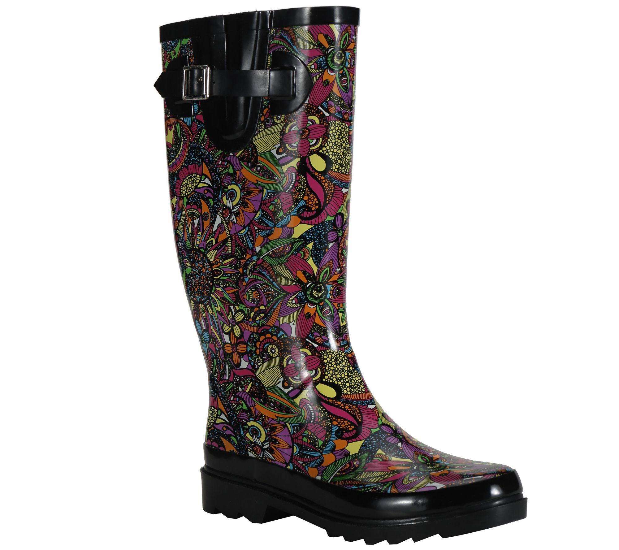 d16efd0b8 Sakroots Rain Boots - Rhythm - Page 1 — QVC.com