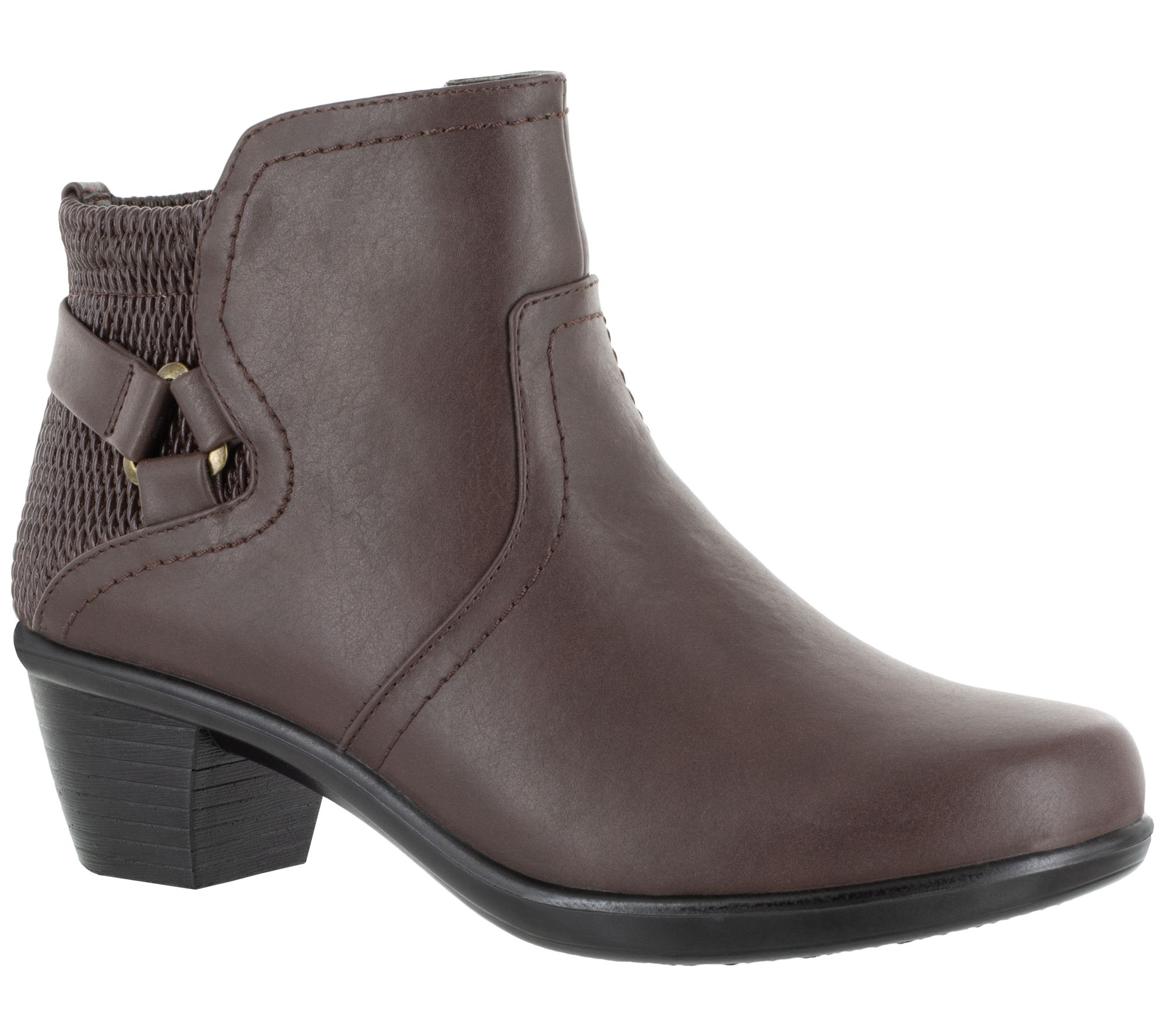 e97256d11e2c Easy Street Ankle Boots with Inside Zip -Dawnta - Page 1 — QVC.com