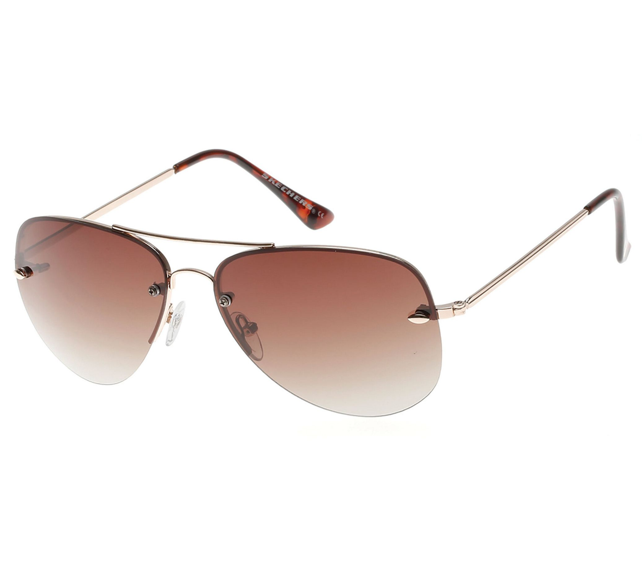 Skechers Women s Polarized Aviator Sunglasses - Page 1 — QVC.com 950a5e990e0