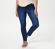 NYDJ Ami Skinny Ankle Jeans with Released Hem -Cooper - A346585