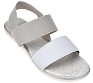 Me Too Gored Double Strap Sandals w/ Backstrap - Brielle - A264786